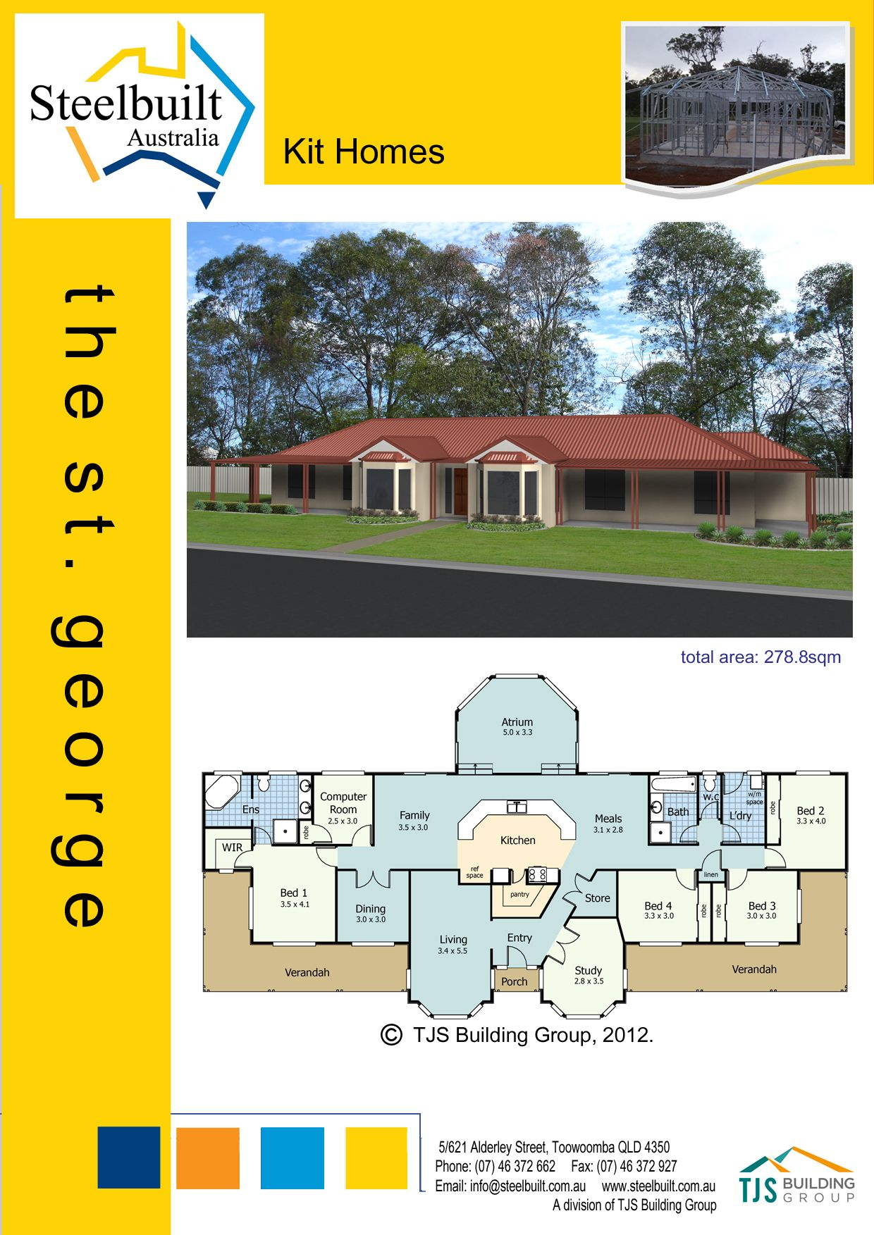 Kit Homes Qld Steel Frame Homes Transportable Homes Steel Kit Homes Kit Homes Owner Builder Granny Flat Kit Homes Steel Frame House Granny Flat