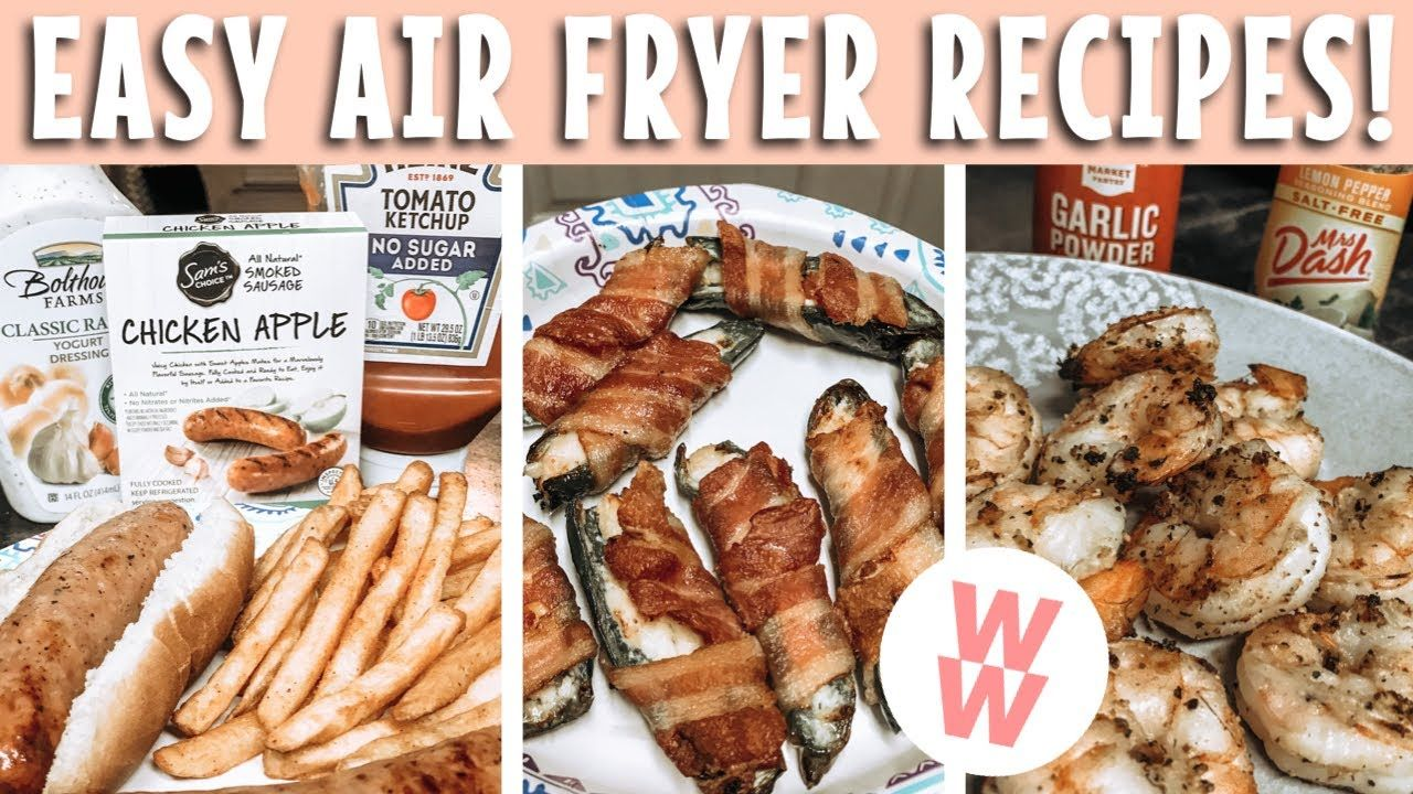 5 AIR FRYER MUST HAVES ON WW! in 2020 Air fryer recipes