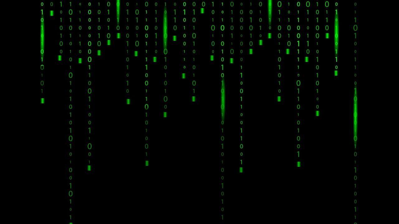 Matrix Green Binary Code Background Adobe Illustrator Tutorial How To Luz Brillante Luces Brillante