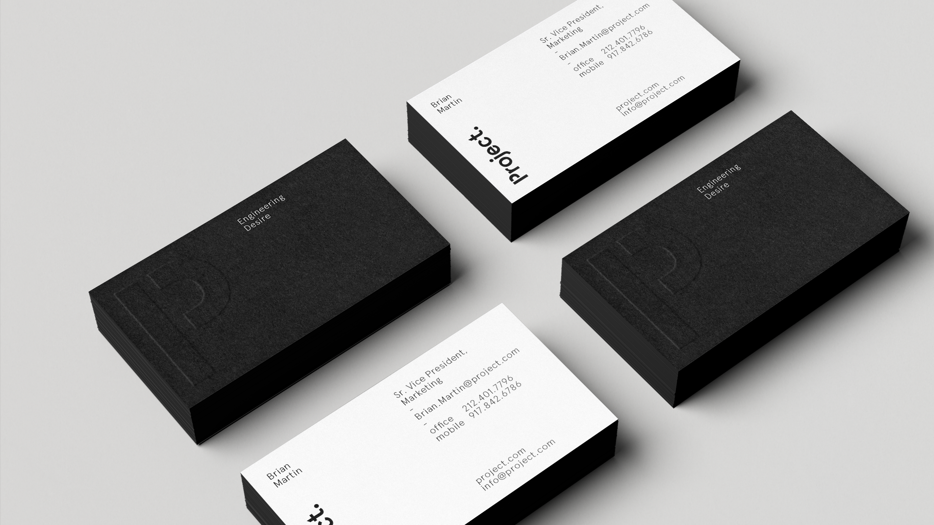 Project Dia Strategy Branding Design Motion Business Cards Layout Branding Design Name Card Design