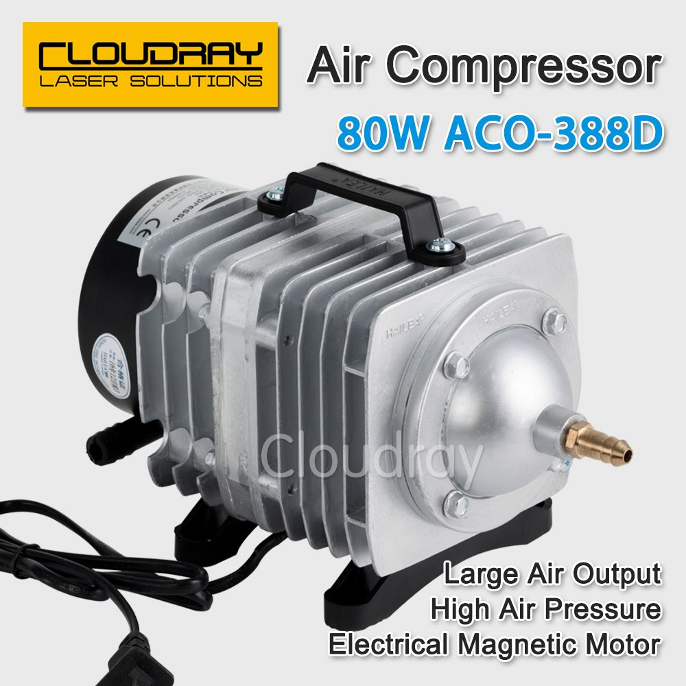 80W Air Compressor Electrical Air Pump for CO2