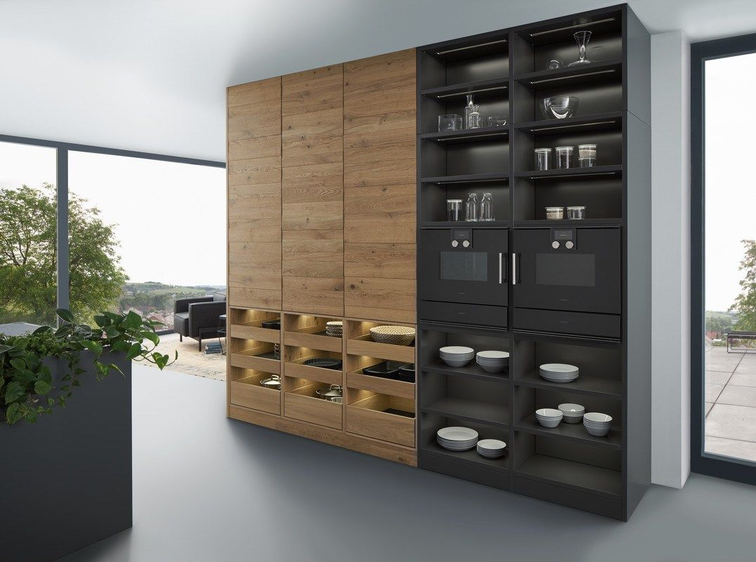 Solid Wood Kitchen With Island Bondi Valais By Leicht Kuchen Cocina Madera Diseno De Cocina Moderna Diseno Muebles De Cocina