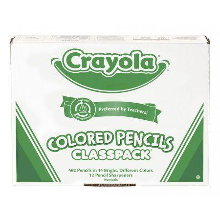 Crayola Colored Pencils Classpack 462 Count Multicolor Crayola
