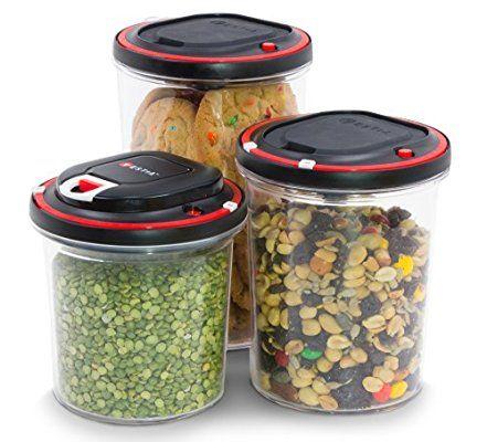Vestia Automatic Vacuum Sealing Food Storage Container System Set