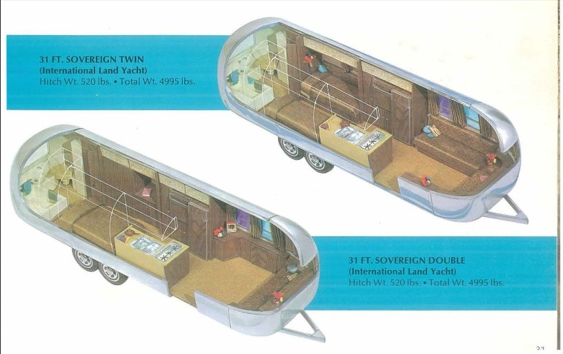 1969 Airstream Sovereign- twin | Silver Twinkie Renovation