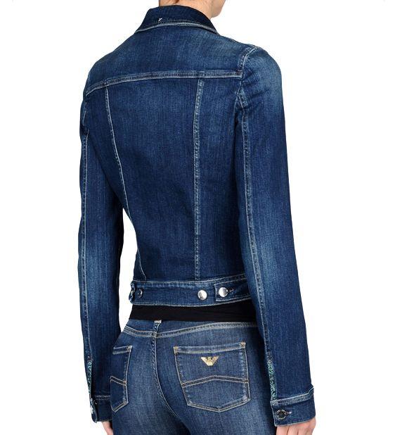 0b08fc5828 Armani Jeans Denim Jacket