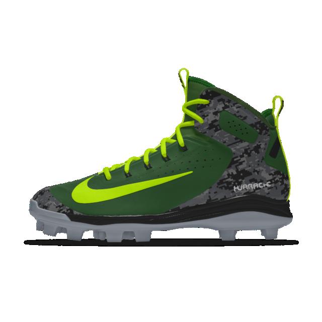 reputable site 23e3e 08c1c Nike Alpha Huarache Elite Mid Metal iD Men s Baseball Cleat