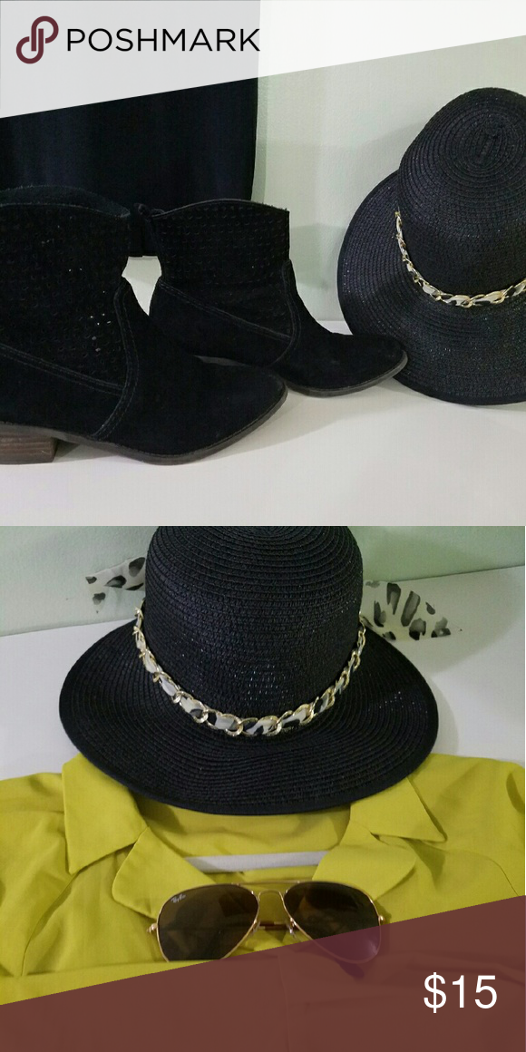 Hat Cute , elegante for summer, beach, BBQ just wear and look fashion. Accessories