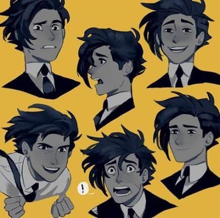 New Drawing Cartoon Hair Guys Ideas -   15 beauty Drawings of boys ideas