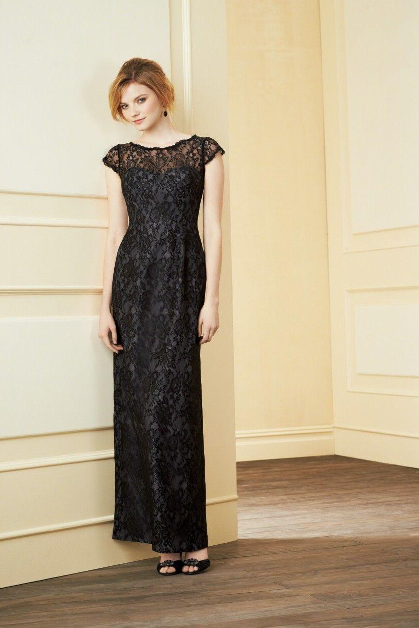 Long simple black dress womenus fashion pinterest wedding