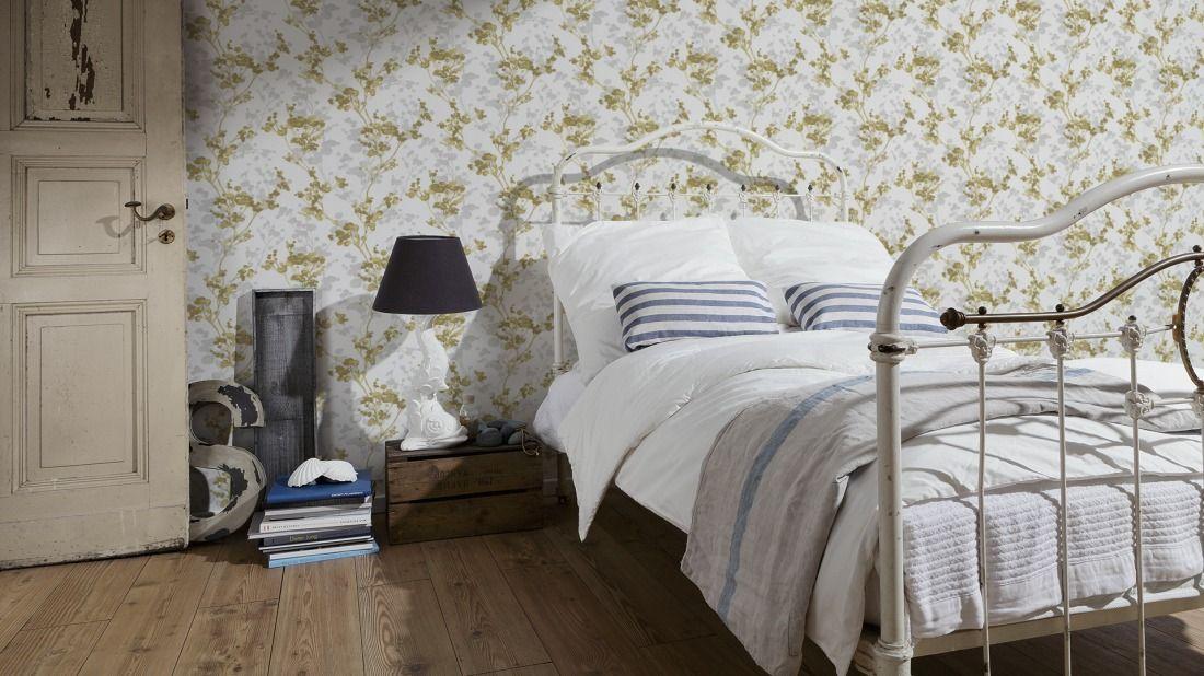 Tapeten im Schlafzimmer; AS Création Tapete 300561 Renovierung