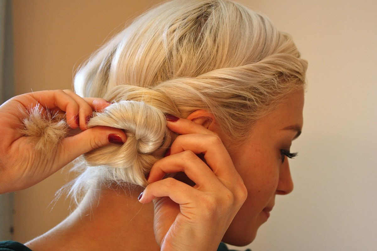 Twisted Sister Hair Tutorial So Easy Great For Long Or Short