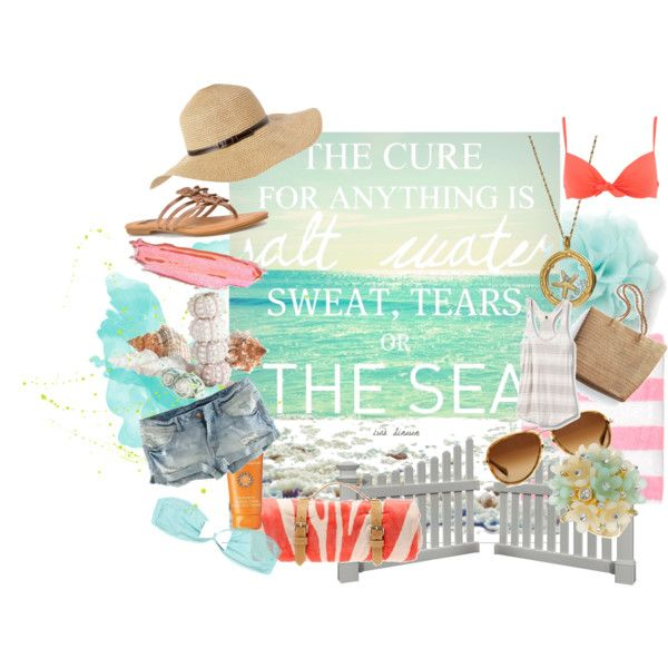 The Sea is the Cure, created by letemlove on Polyvore