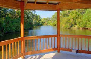 Waterside Amenities - Spinnaker Resorts Gazebo #gazebo  #water #lake #sound #ocean