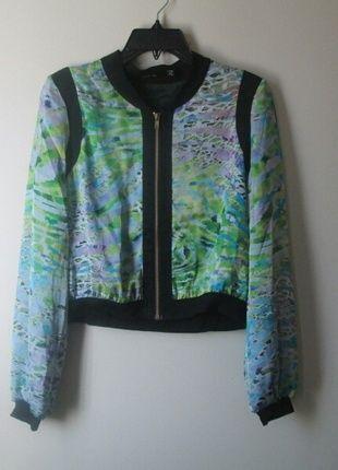 0b3370b4aeef Buy my item on  vinted http   www.vinted .com womens-clothing blazers 16931160-lime-floral-blazer-jacket
