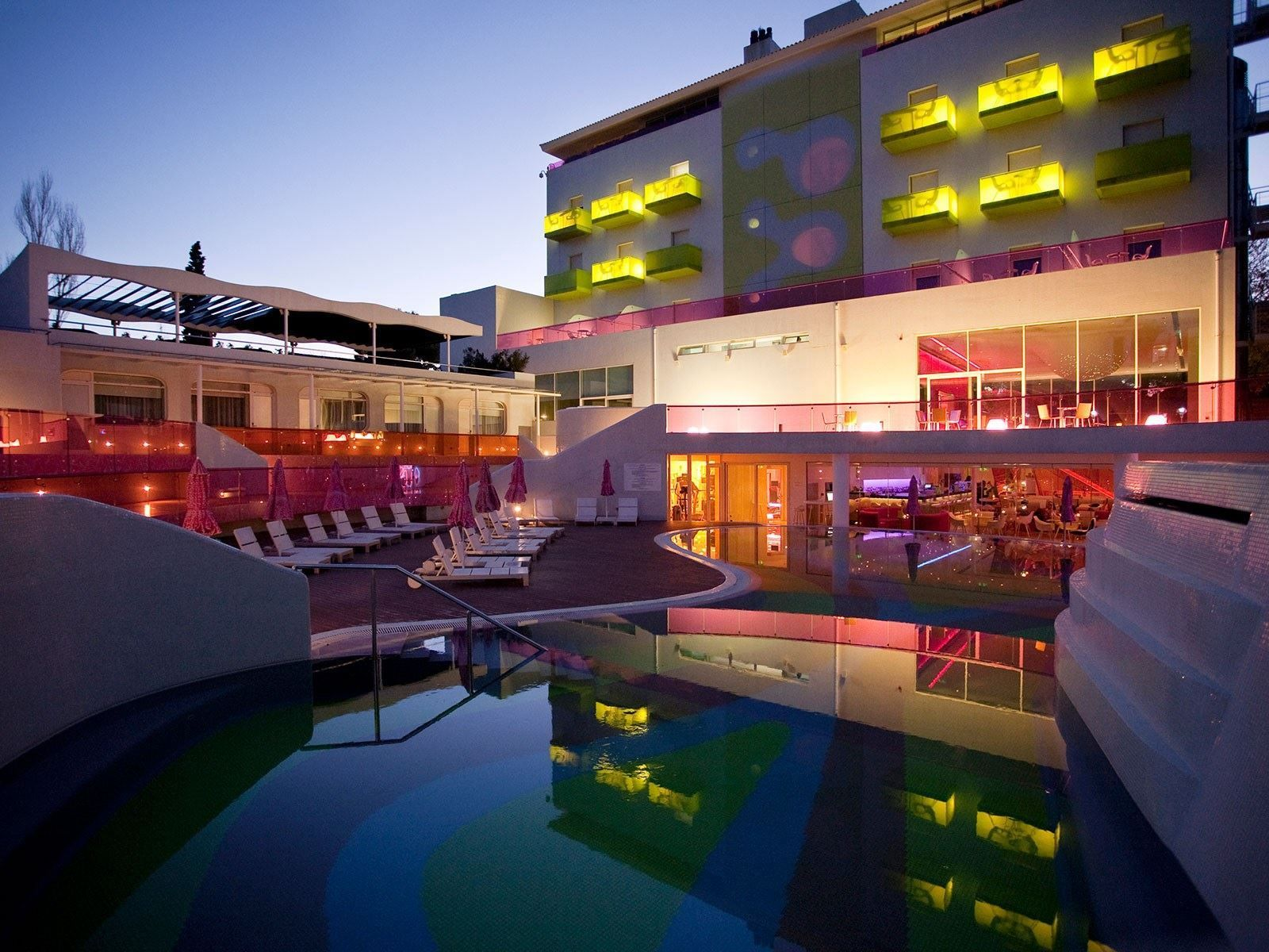 The World S Most Colorful Hotels Kifissia Athens Hotel Greece Hotels