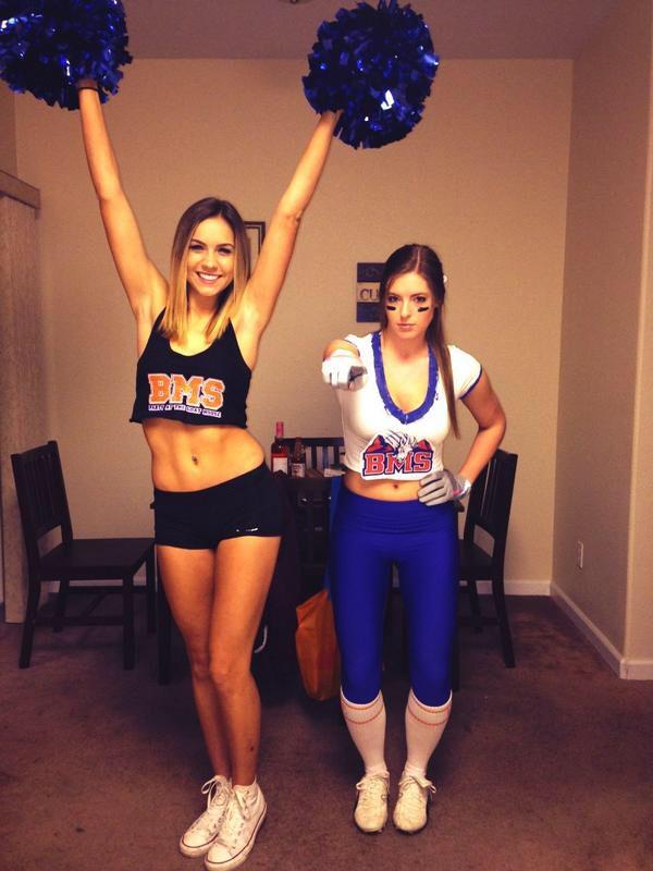 Bms Cheerleaders Cheerleader Halloween Costume Cheerleader Halloween Diy Halloween Costumes