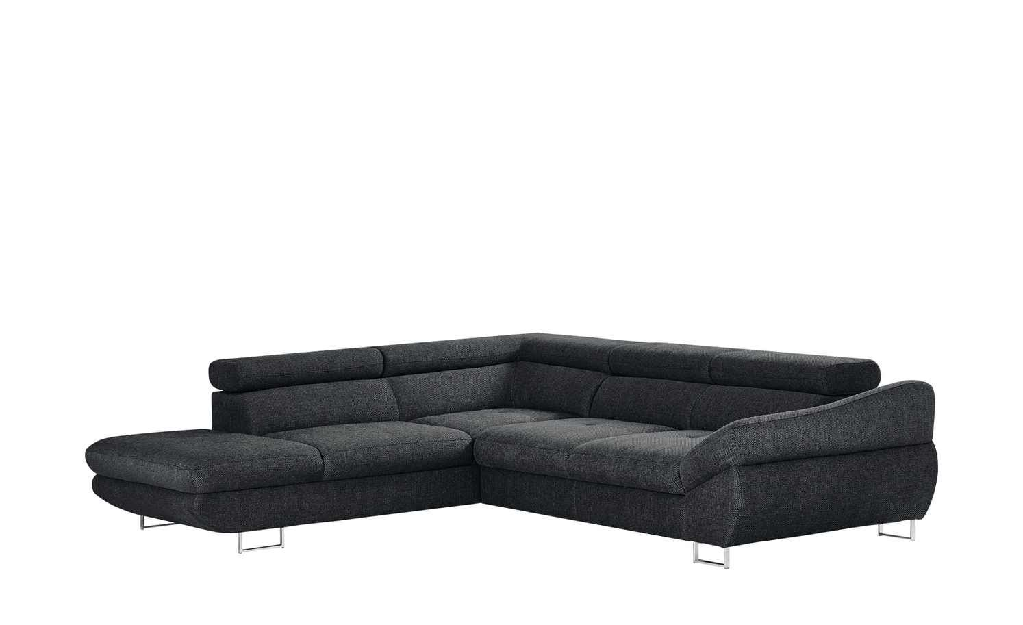 Seats En Sofa Arnhem Switch Ecksofa Grauschwarz Webstoff Fabio In 2019 Sofa Sofa