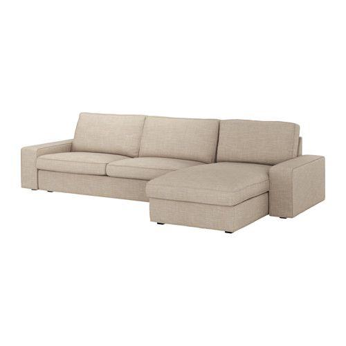 Admirable Kivik 4 Seat Sofa With Chaise Longue Hillared Beige Ikea Uwap Interior Chair Design Uwaporg