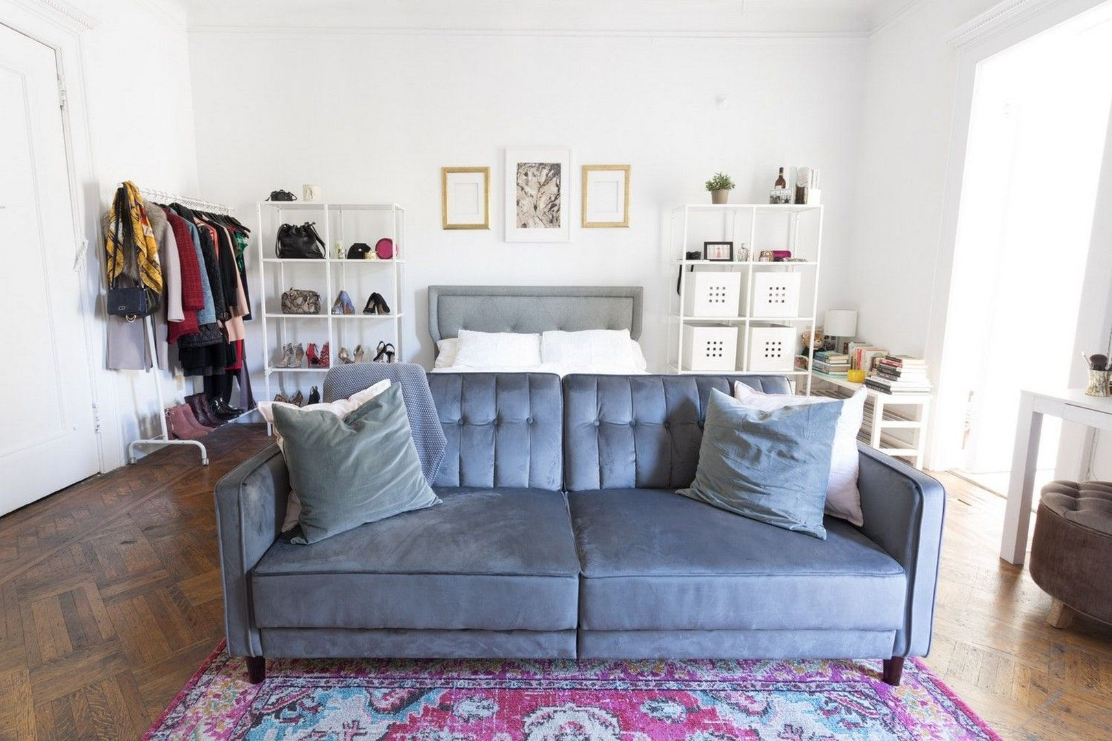 26 Studio Apartments That Are Chock Full Of Organizing Ideas