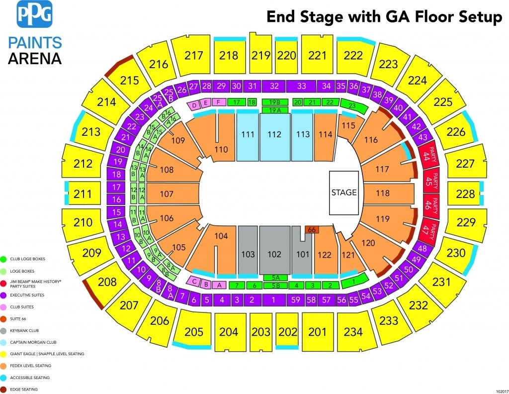 ppg paints arena | Seating charts, Seating plan, Disney on ice