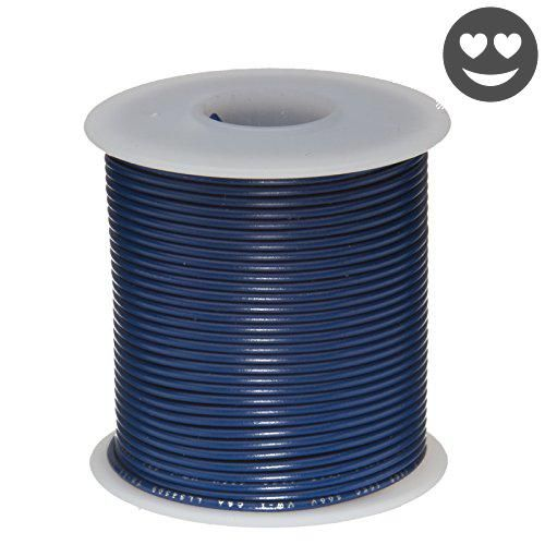 Remington industries 24ul1015strblu ul1015 24 awg gauge stranded remington industries 24ul1015strblu ul1015 24 awg gauge stranded hook up wire 600v 00201 diameter 100 225 length blue greentooth Image collections