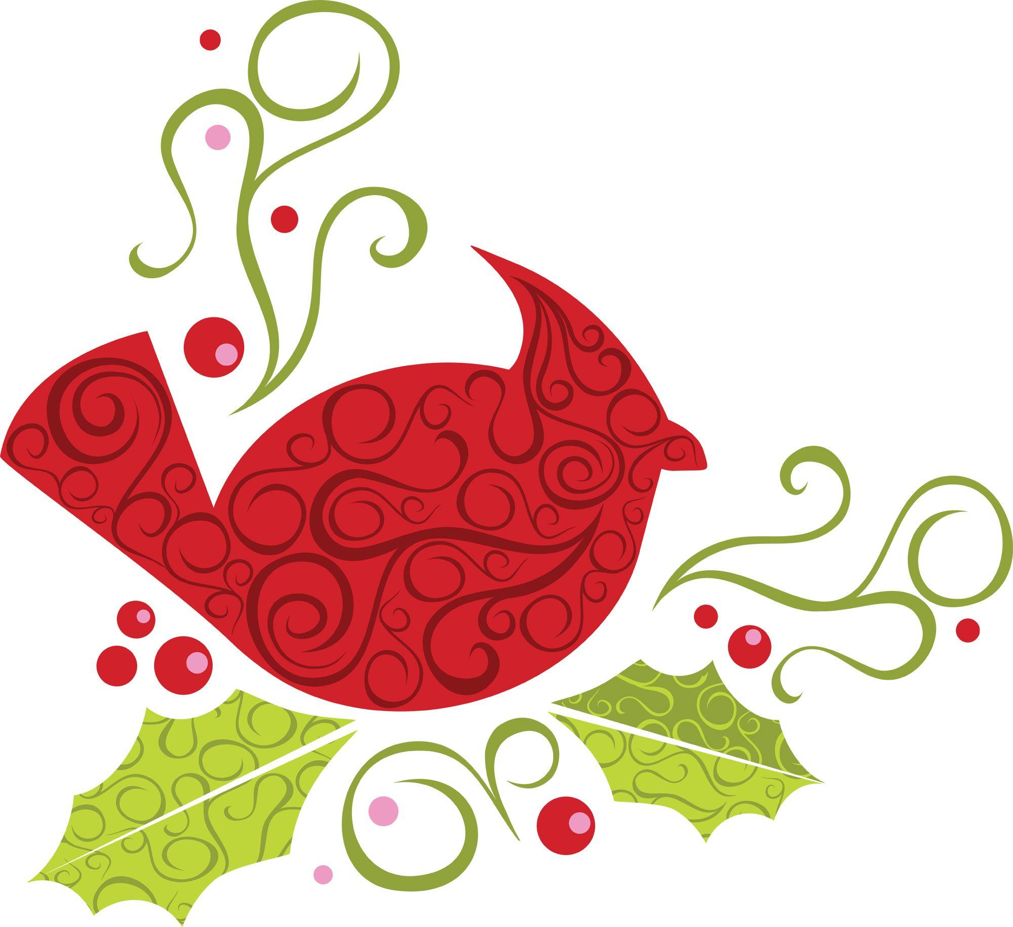 christmas bird clip art christmas cardinal clipart clipart kid rh pinterest com Christmas Dog Clip Art christmas bird clip art free