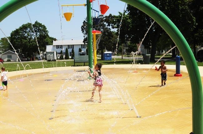 Sandusky Ohio The Huron Park Splash Pad Is Now Open And Will Remain In Operation Through Labor Day Operating Hours Are 9 A Sandusky Fun Places To Go Ohio