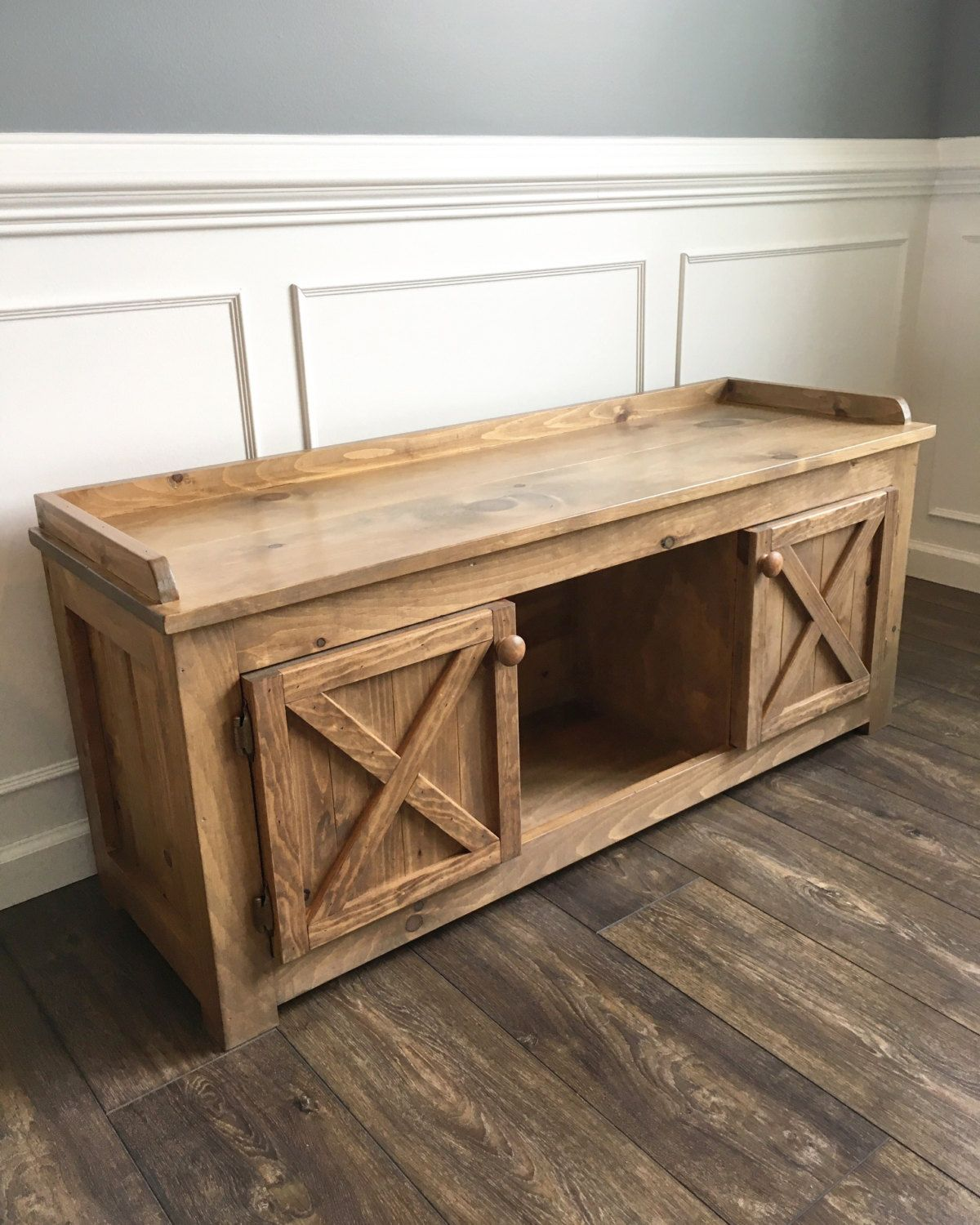 Entryway Bench / Mudroom Bench | Bancos, Entrar y Locales