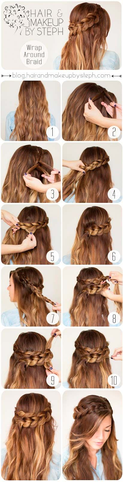 Cozy And Classy Winter Hairstyles To Try Hair Styles Long Hair Styles Romantic Hairstyles Tutorial