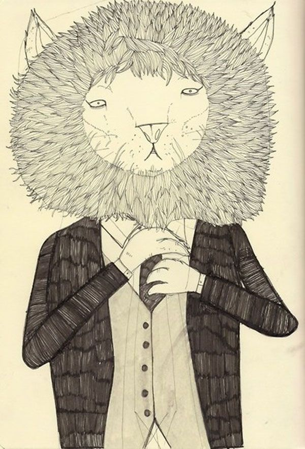 'Lion in a suit' David Litchfield