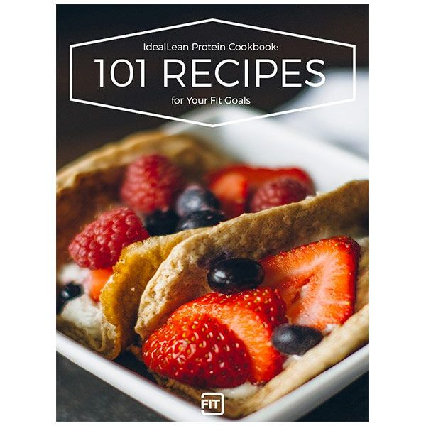 Protein recipes to revamp your nutrition and your body from cookies buy 101 protein recipe ebook protein fatburner pre workout and bcaas at idealfit fandeluxe Gallery