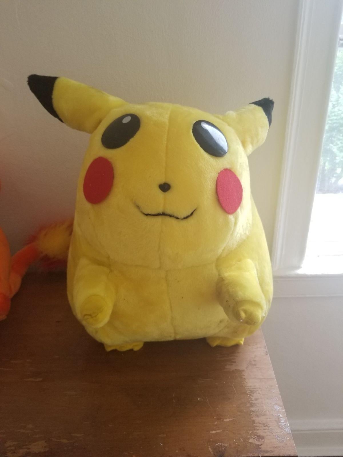 1990s Stuffed Pickachu Great Condition Pokemon Stuffed Animals Plush Pokemon