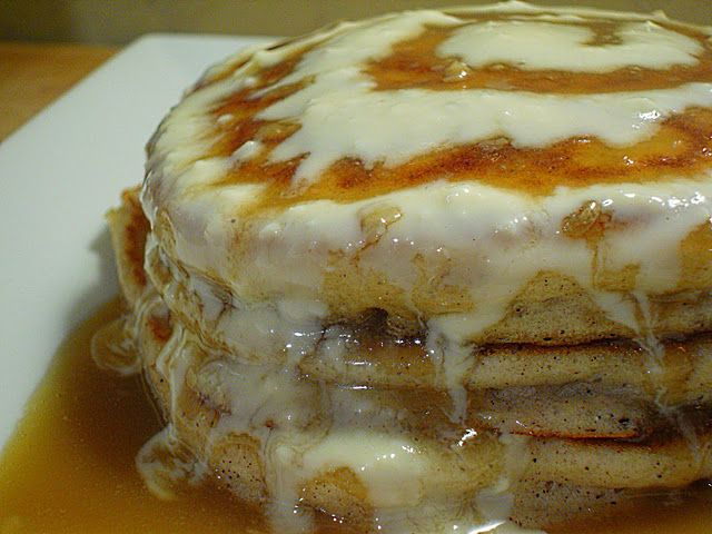 :)- very sweet and filingCinnamon Roll Pancakes