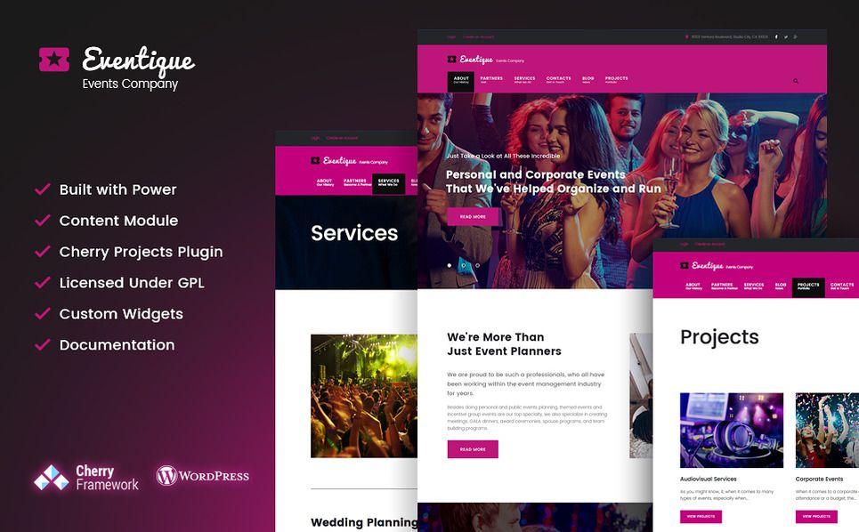 Eventy nice public event multipurpose html website template.