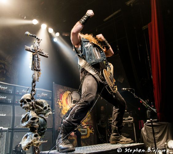 Epic Firetruck's Zakk Wylde's Black Label Society ~ Photo by Stephan Birlouez (www.amongtheliving.fr) on Flickr.