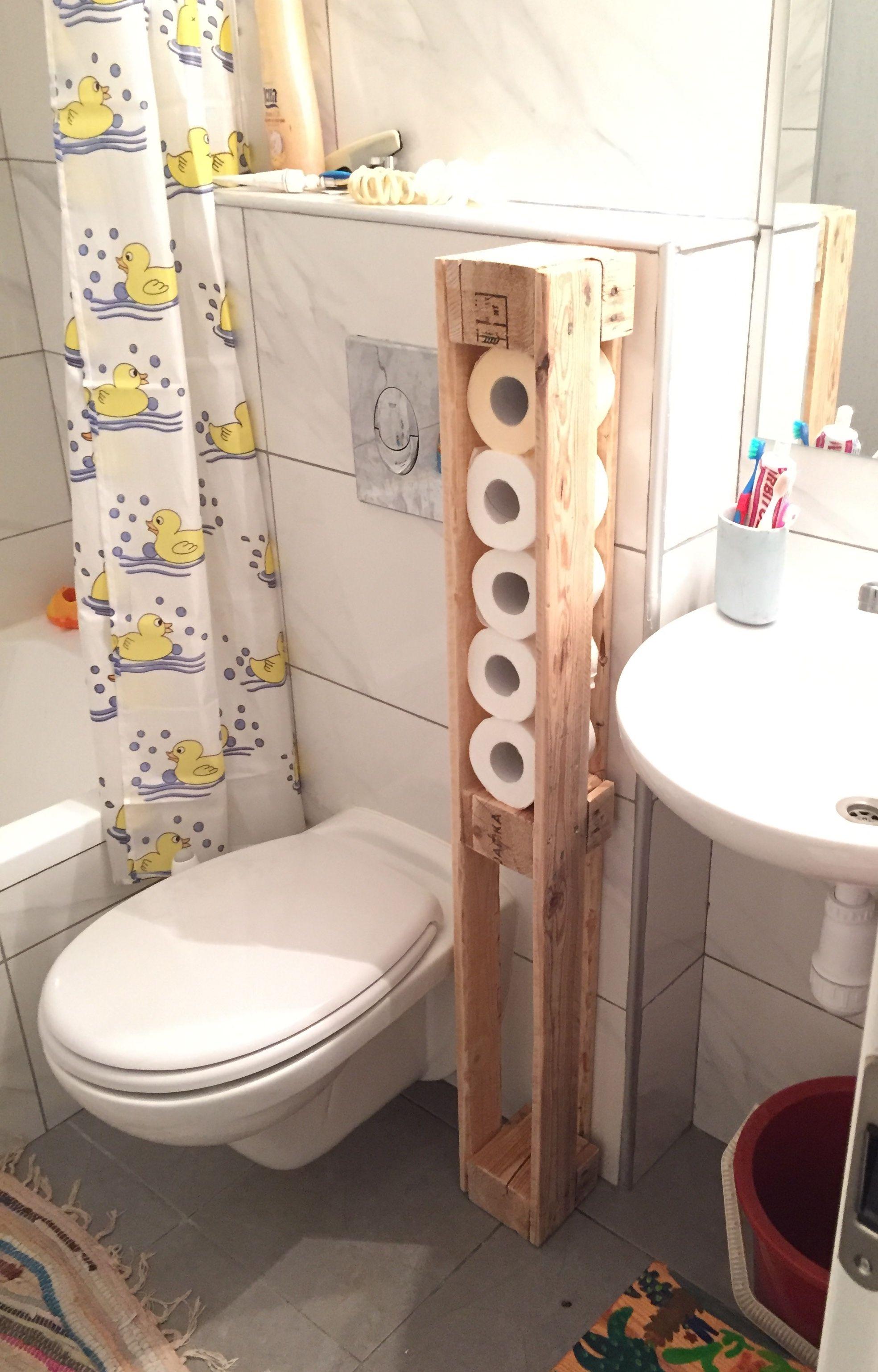 Pallet Toilet Paper Holder Bathroom Shelf Bathroom Shelves Diy Toilet Paper Holder Pallet Bathroom Shelf
