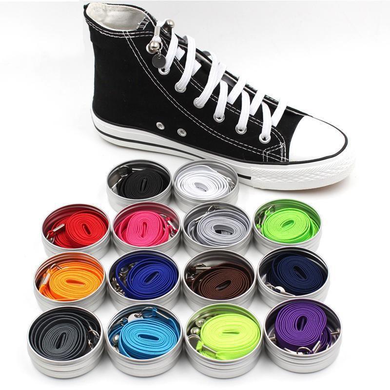 Elastic shoe laces, Tie shoelaces
