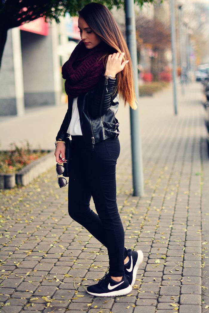 zapatillas mujer nike casual negras