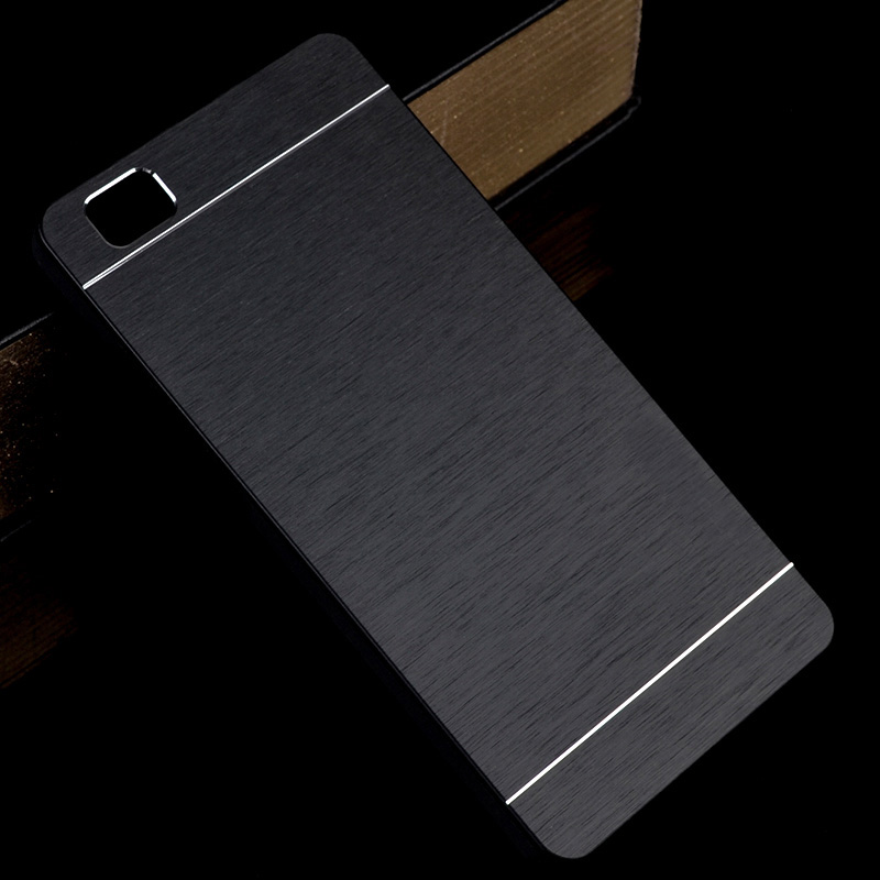 For Huawei P8 Lite 2015 Case P8lite Slim Metal Aluminum Brushed Phone Back Cover For Huawei P 8 Lite Hard Plastic Cases Shells In 2020 Phone Case Accessories Huawei Plastic Case