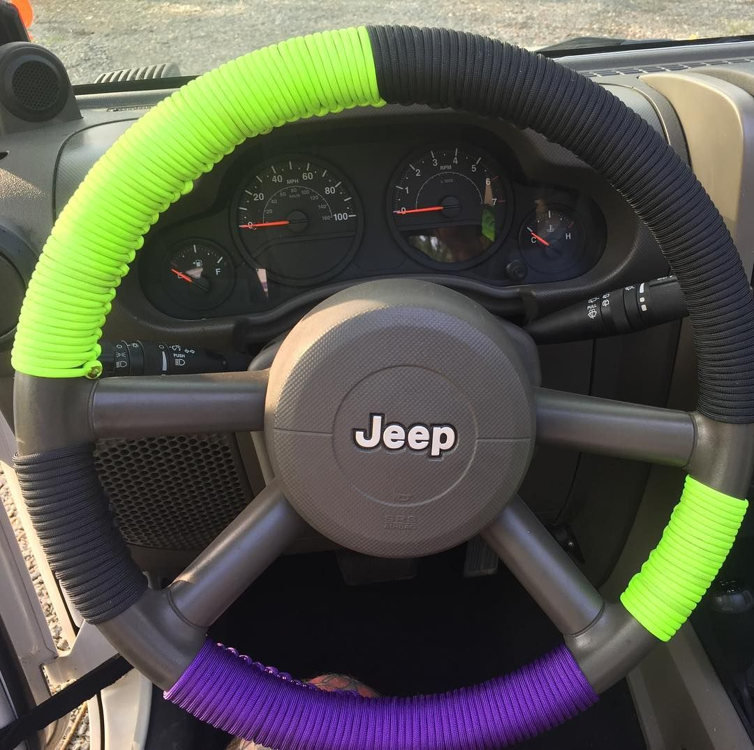 Reposting Paraswag75 New Paracord Steering Wheel Wrap