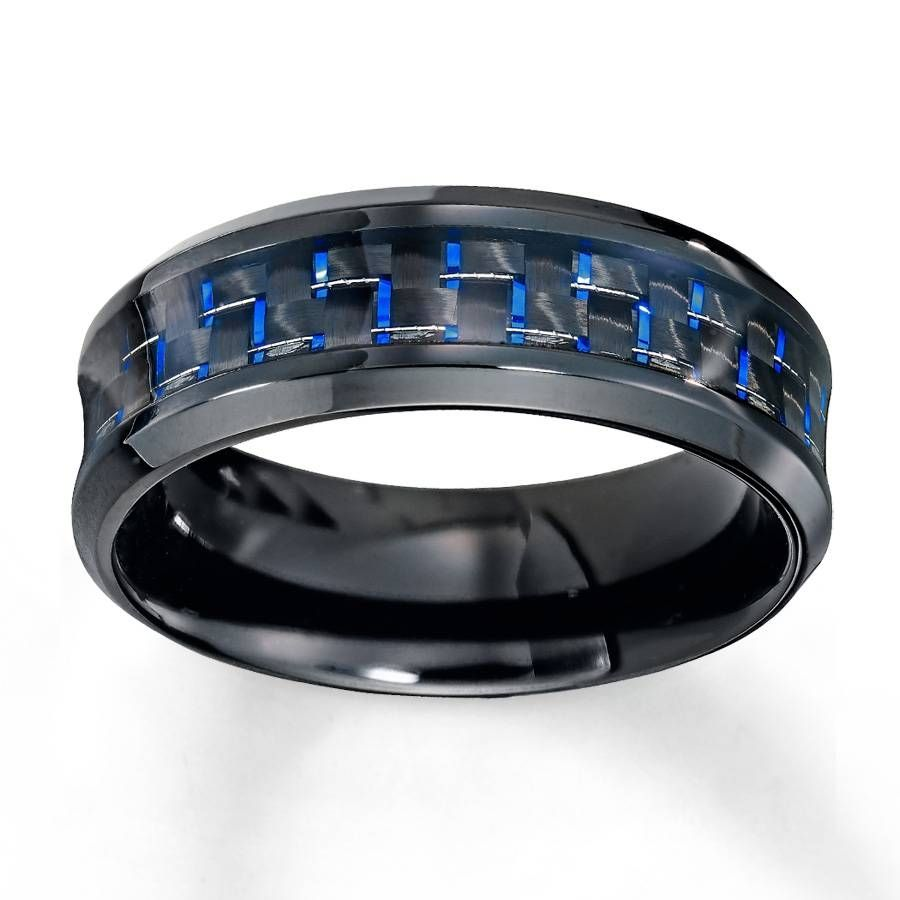 2018 Beliebt Kay Juweliere Eheringe Fur Manner Verlobungsringe Mens Wedding Bands Blue Mens Wedding Rings Mens Wedding Bands