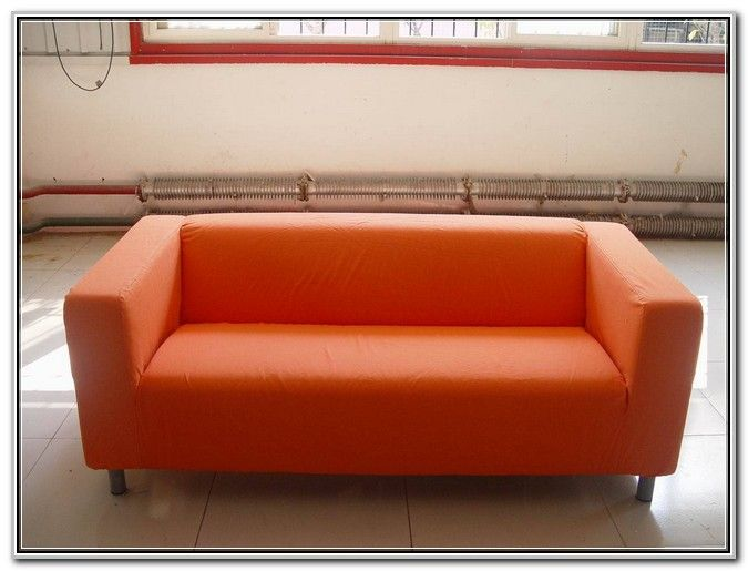 Orange Loveseat Sofa Coffee Tables Ideas
