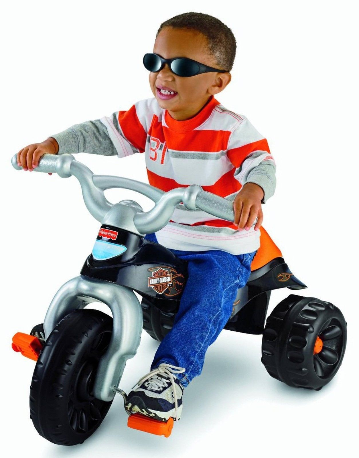 Fisher Price Harley Davidson Tough Trike Motorcycle Kids Tricycle