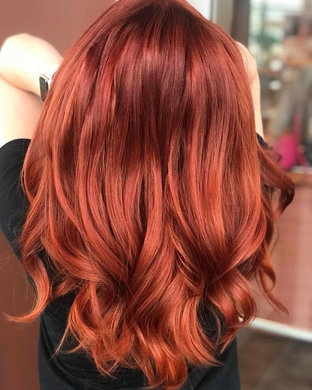 35 Lovely New Red Hair Color Ideas Red Hairstyles For 2019 Hairstyles Beautifulredhair Hair Styles Short Red Hair Red Hair Color