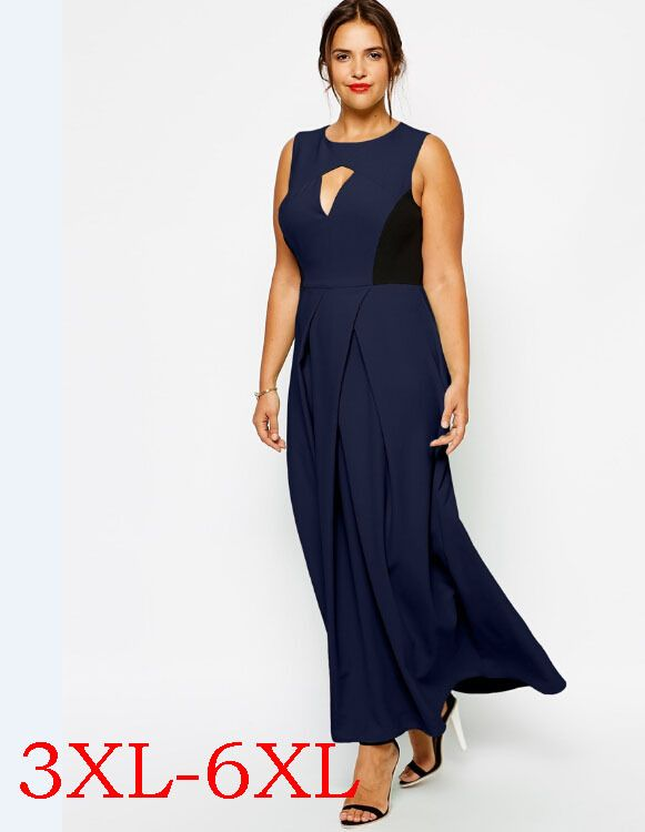 68ba3f86bcc64 Plus Size Long Summer Dresses Big Size 6XL Sexy Party Dress Large Size 5XL  Women Clothing