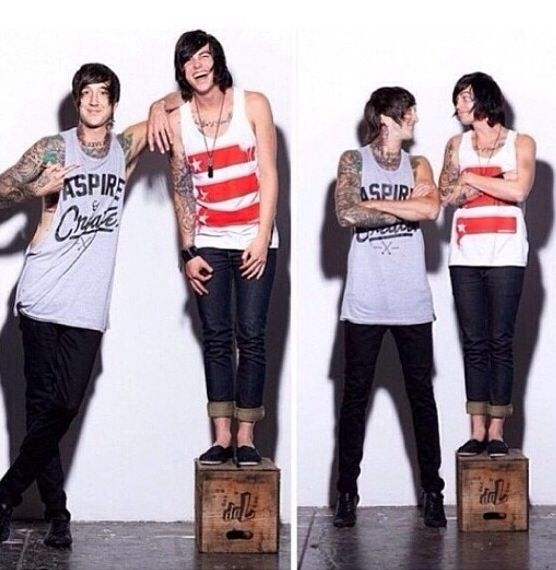 dd34d173c5  3 Austin Carlile (Of Mice   Men) and Kellin Quinn (Sleeping With Sirens)