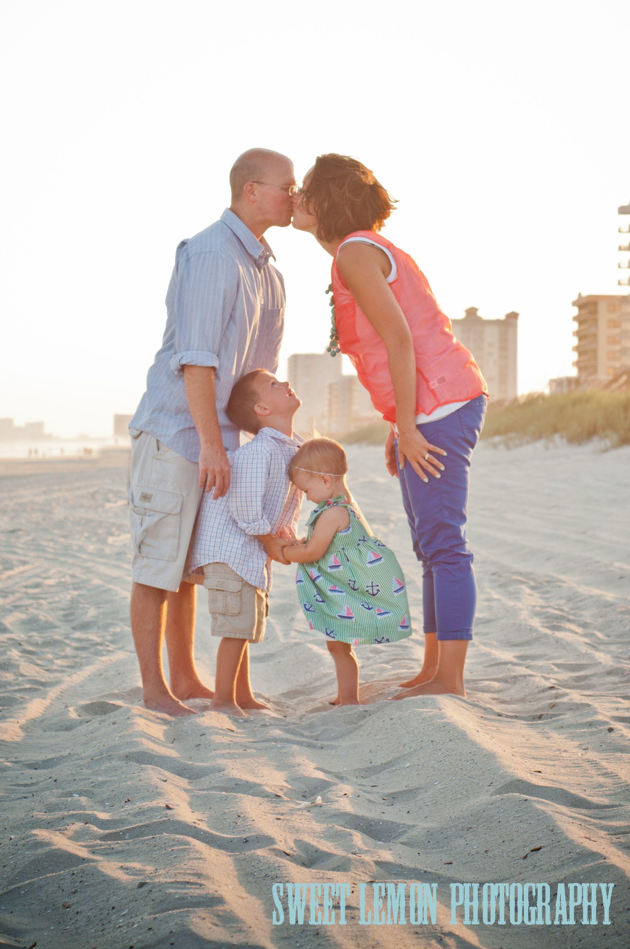 Adorable Beach Family Photo Myrtle Beach Photographer Cutefamily Myrtlebeach Photograp Beach Family Photos Family Beach Pictures Myrtle Beach Photographers