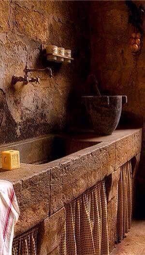 Antica pila lavello siciliana ragusa sicily nel - Antica cucina siciliana ...