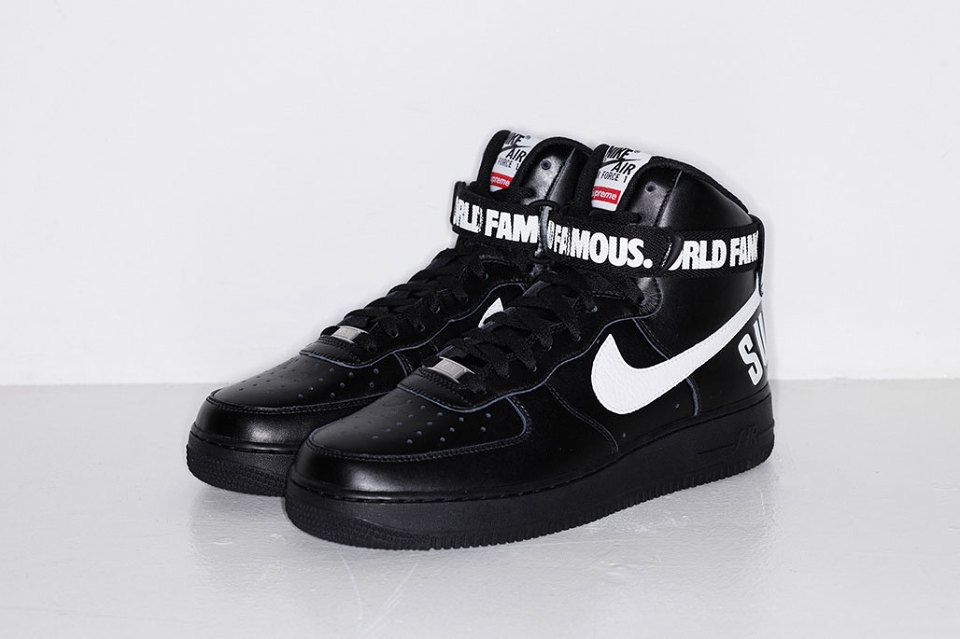 Supremo X Nike Air Force 1 Hi Negro Footaction J5OKH